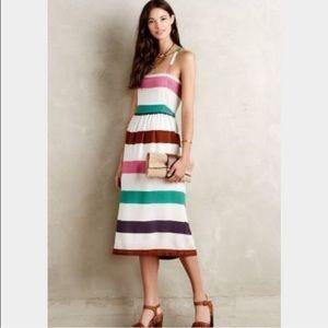 Corey Lynn Calter Anthropologie Striped Dress